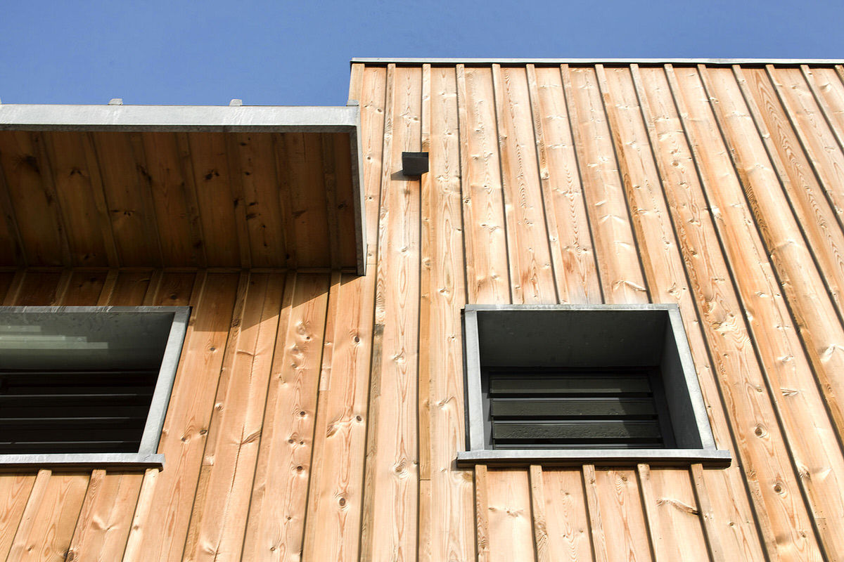 Architect for Natural wood siding