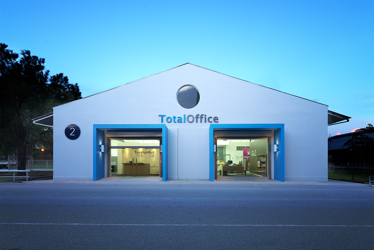 total office showroom