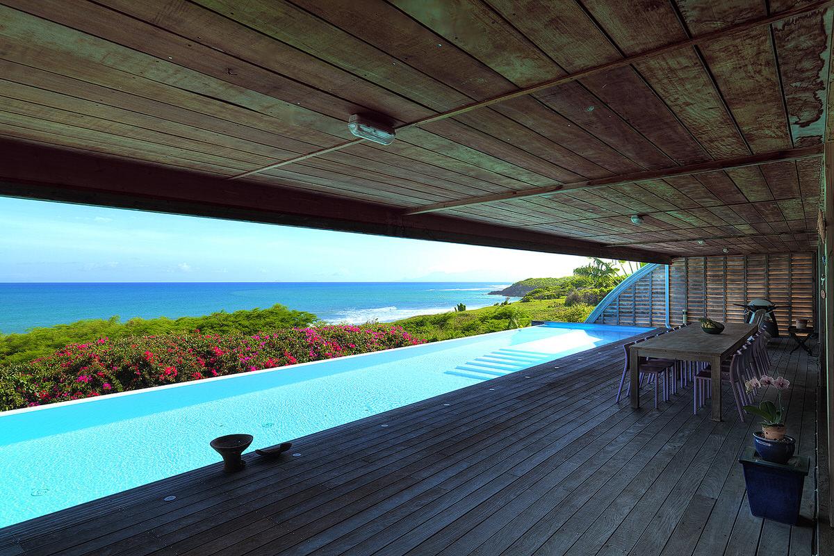 see sea blue villa guadeloupe