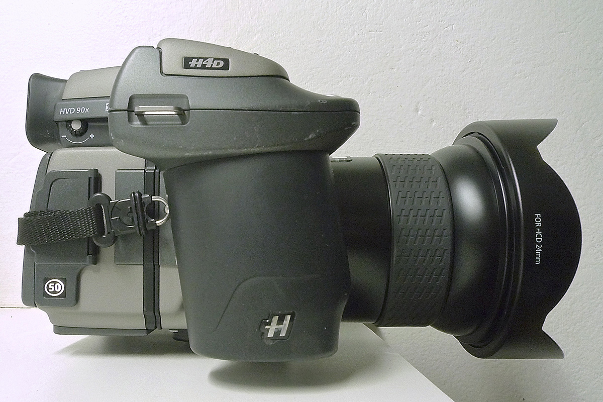 Hasselblad H4D/50 MP + HC24mm Lens