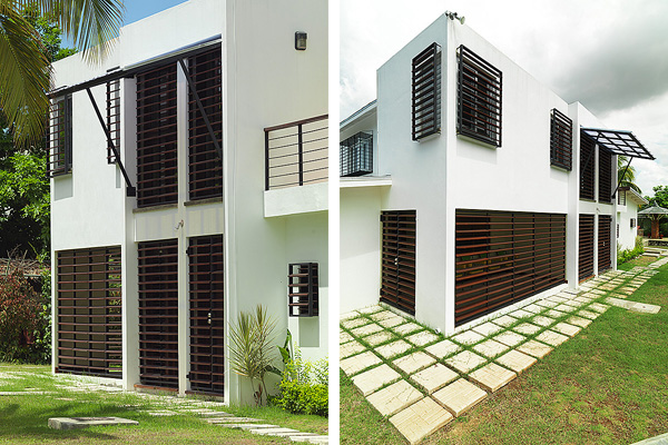 Louvered sunscreens and security sunshade grilles
