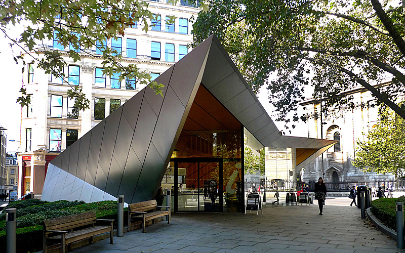 City Information Point by Make Architects