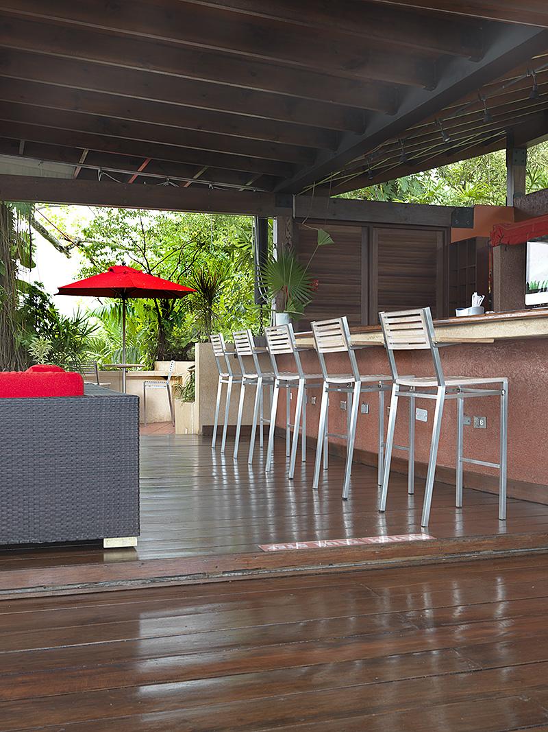 The Bushbar stools