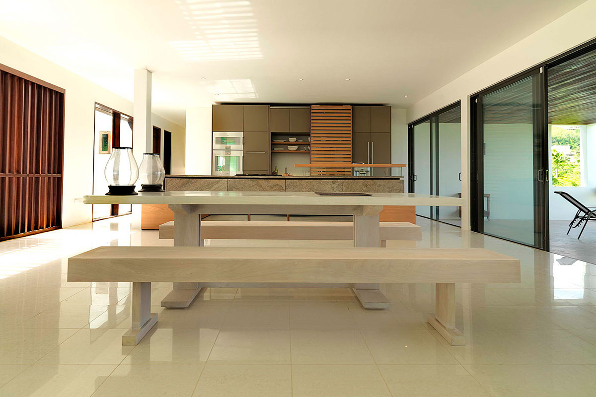 3-white-marble-table-and-bench-modern-kitchen